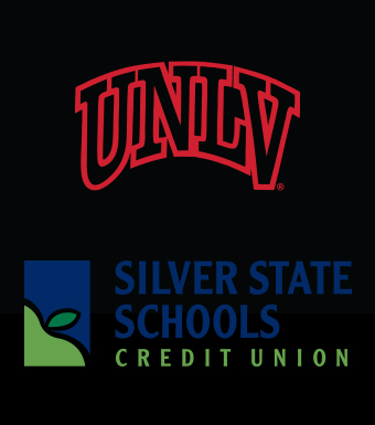 Corporate Logos for University of Nevada, Las Vegas and Silver State Schools Credit Union