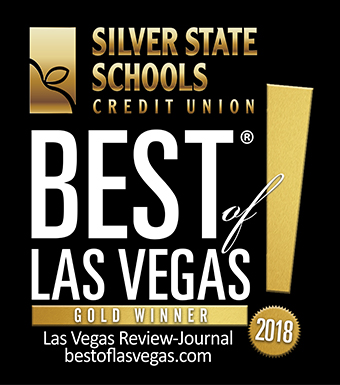 Best of Las Vegas Gold Image with Silver State Schools Credit Union Logo